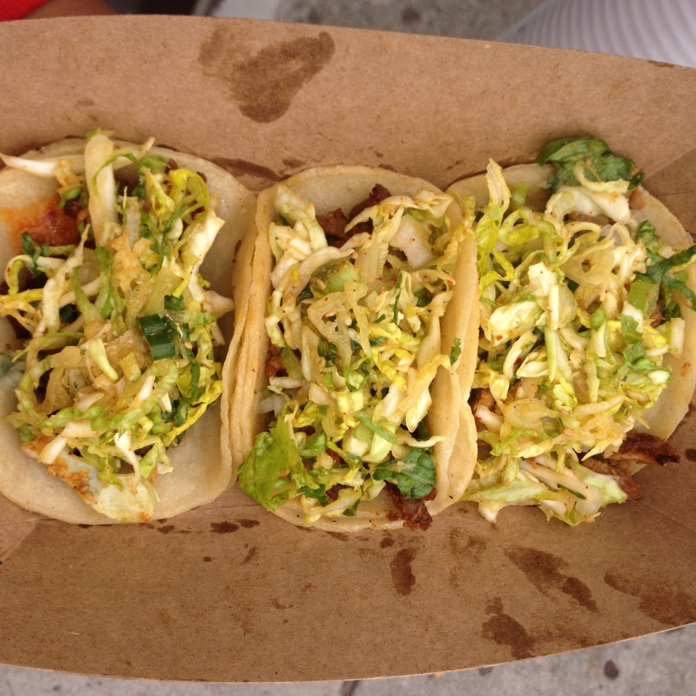 Three tacos & drinks for $8!