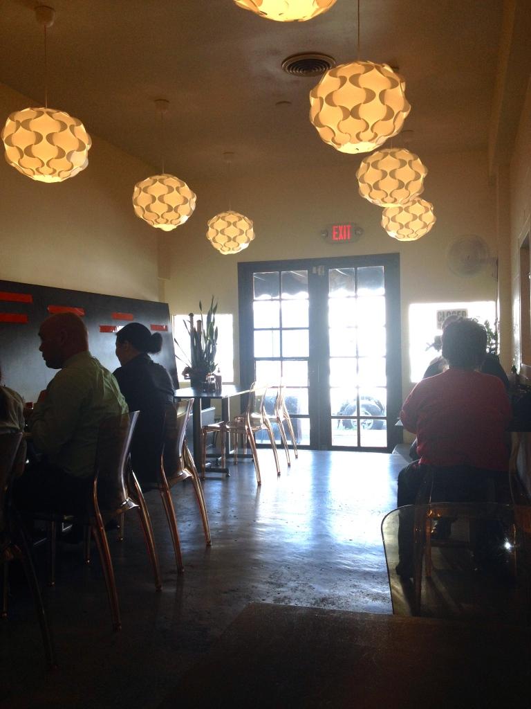 Inside Vien Café
